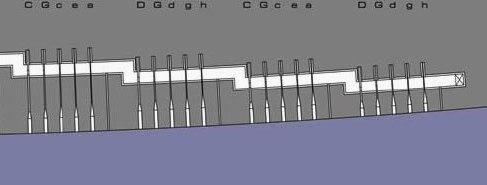 Sea organs scheme